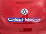 Intolerant Bumper Stickers
